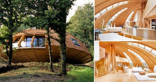 Un domo sustentable que gira para aprovechar la luz solar