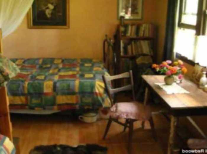 Jill Redwood, su dormitorio