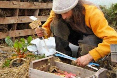Poot Pascal, el francés que cultiva tomates sin agua y está fascinando a la comunidad internacional
