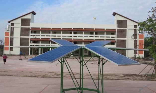 """La """"Escuela Solar"""" autosuficiente en Tailandia de la que deberíamos aprender"""