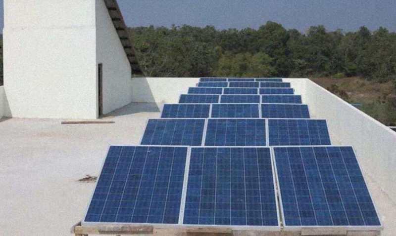 Escuela Solar autosuficiente en Tailandia2