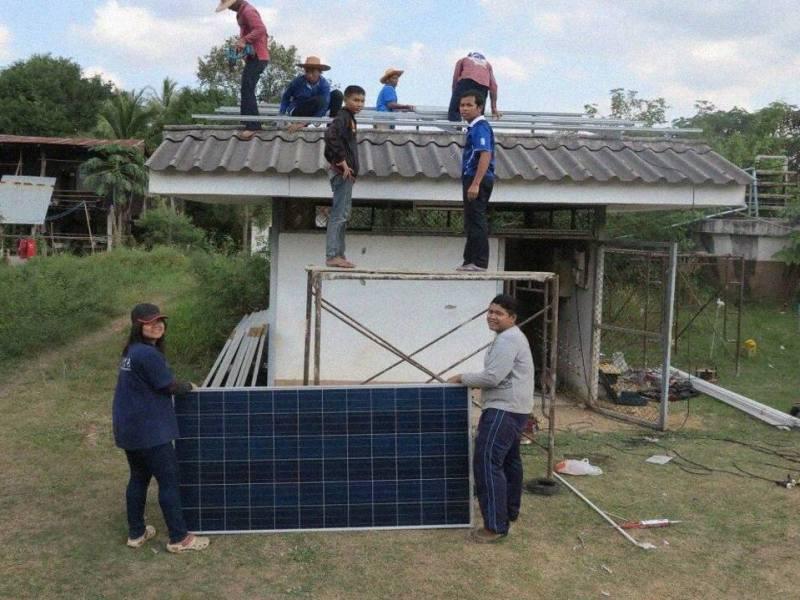 Escuela Solar autosuficiente en Tailandia6