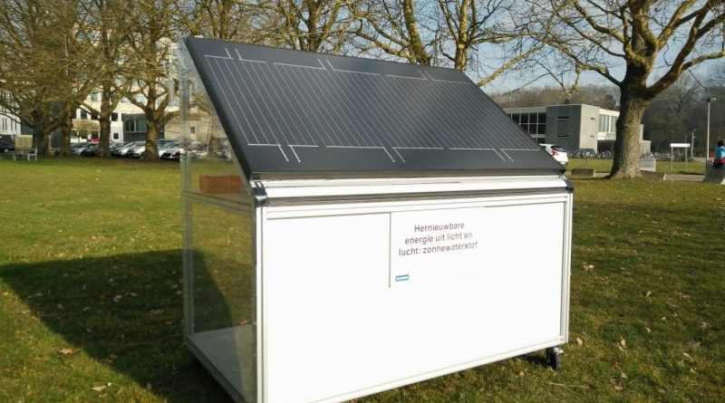 , Científicos belgas crean panel solar que produce hidrógeno