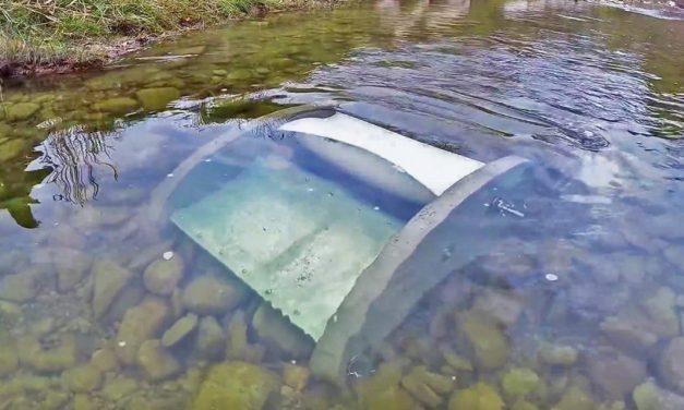 Microgenerador utiliza las corrientes de los ríos para producir energía.