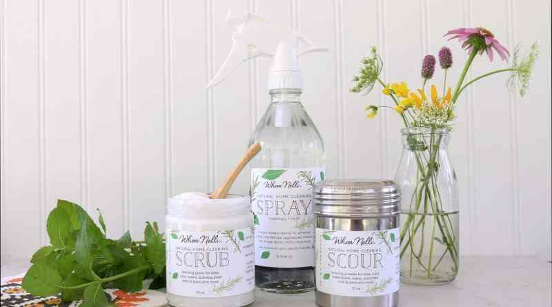 Los productos de limpieza naturales benefician el medio ambiente y también el bolsillo