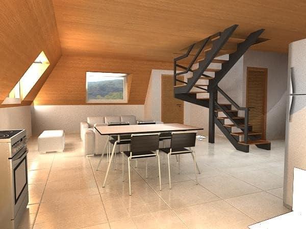 Casa del Futuro: Abastecida por renovables, piramidal, resistente a terremotos y huracanes