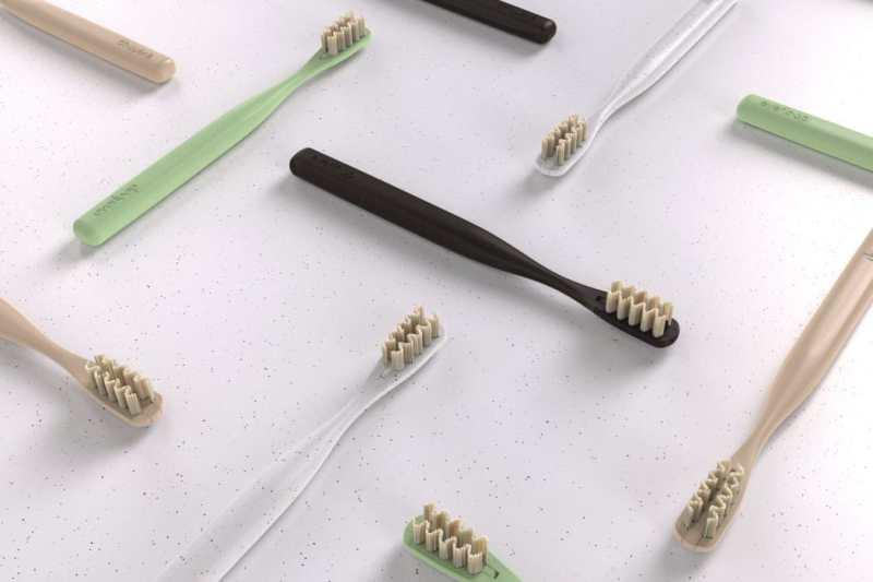 Everloop: el cepillo de dientes sustentable con cerdas reemplazables de Bamboo
