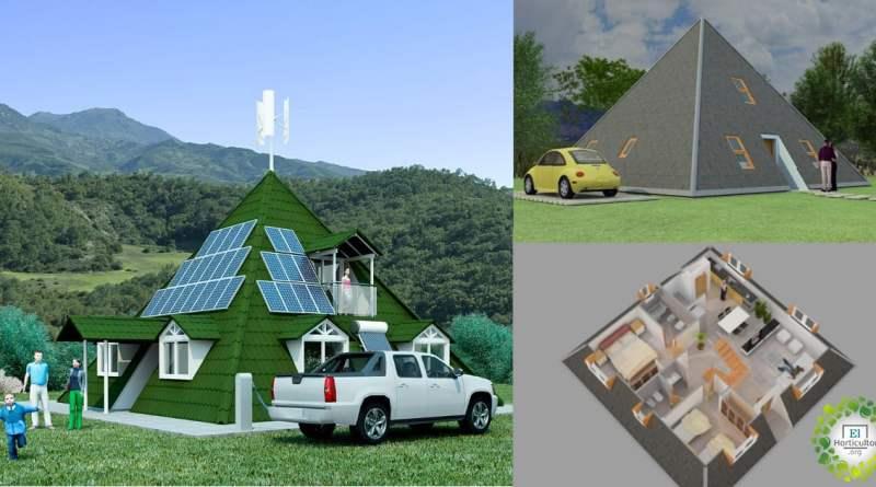 , Casa del Futuro: Abastecida por renovables, piramidal, resistente a terremotos y huracanes