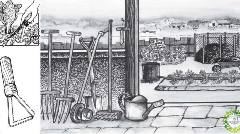 , Libro: Fabricación casera de herramientas para la huerta – INTA