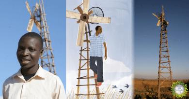 , Niño Africano de 14 años creó turbina eólica y liberó a su pueblo de la pobreza