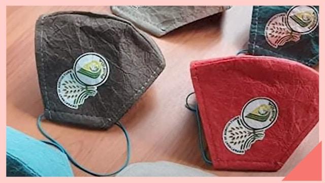 Desarrollan mascarillas 100% biodegradables fabricadas con fibras naturales
