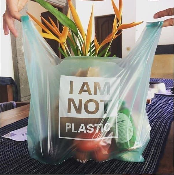 , Joven crea bolsas que al caer al mar se disuelven sin causar daño al medio ambiente