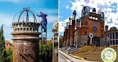 , Este hombre de 93 años construyó su propia catedral con materiales reciclados