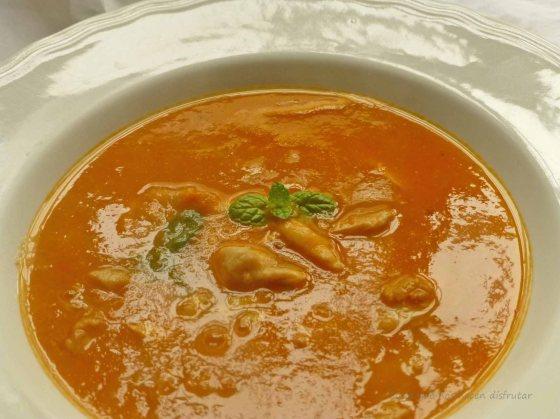 Sopa de pescado #dorada #salvaje