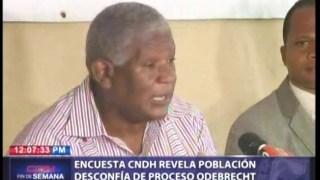 Población desconfía del proceso judicial al caso Odebrecht, según encuesta.
