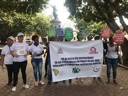 Trabajadoras domésticas exigen su inclusión en la Seguridad Social