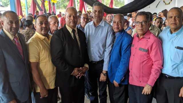 Lanzamiento de la Candidatura a Alcalde del Lic. Quilvio Peña por el PHD en Villa Gonzalez .
