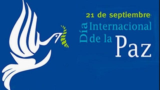 21 de septiembre, día Internacional de la Paz.