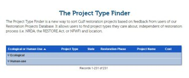 Project Type Finder