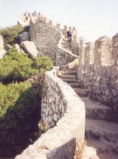 Escadaria do Castelo dos Mouros