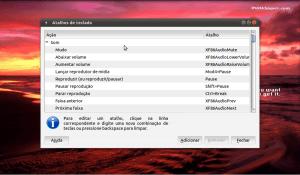 Atalhos de teclado no Ubuntu