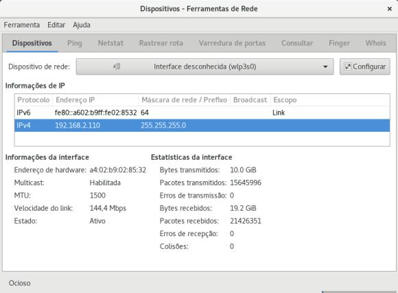 Linux - Ferramentas de rede