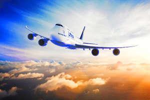 Plane lufthansa boeing 747-8 intercontinental queen