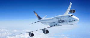 plane boeing 747-8 lufthansa