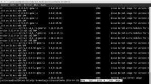 linux ubuntu lista kernel instalado