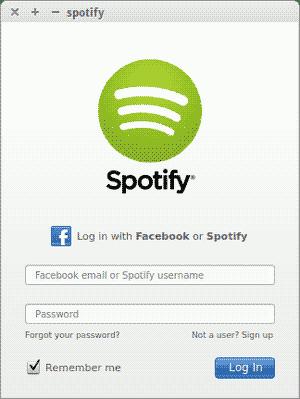 Spotify, Linux, Ubuntu, Debian, Multimidia, screenshot, captura de tela