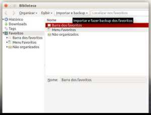 importar e backup do chromium pro firefox