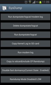 Liberar memória no Android com sysdump