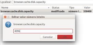 Reduzir o uso de cache