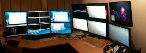 linux configuração de múltiplos monitores