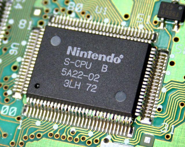 SNES processador Ricoh