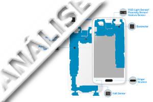 capa de sensores em smartphones android