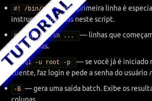 mysql script tutorial