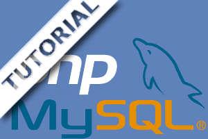 php and mysql tutorial logo