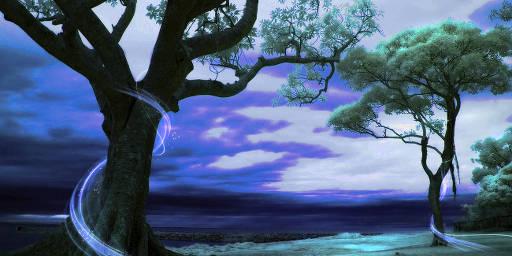land-trees