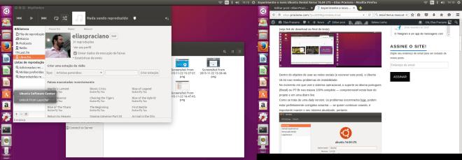 Ubuntu 16.04 LTS Xenial Xerus captura de tela screenshot