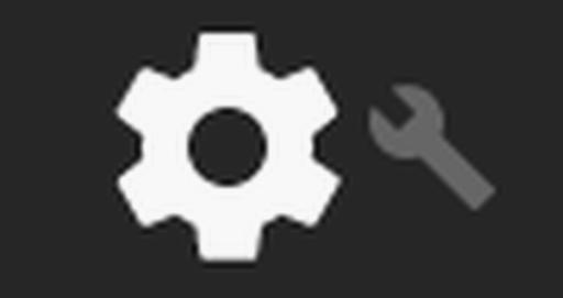 System UI configuration icon