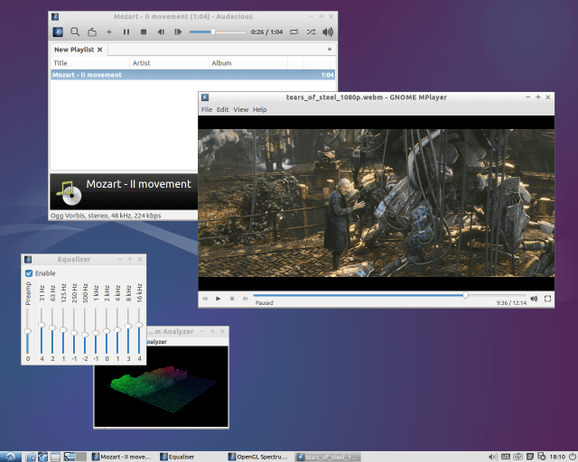 lubuntu desktop screenshot