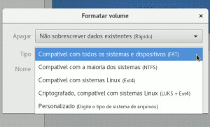 linux format disk vfat filesystem