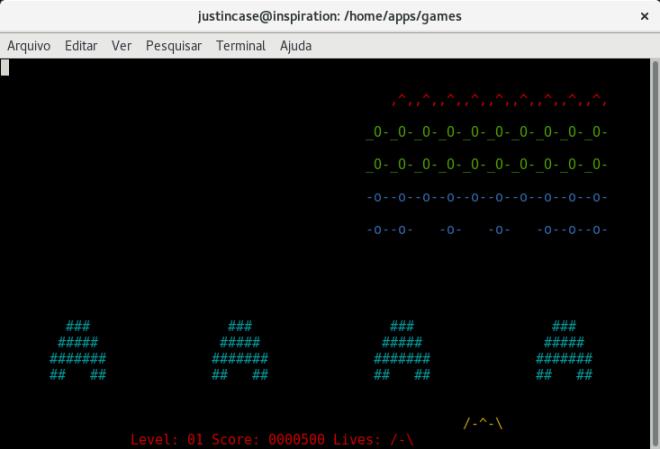 ninvaders space invaders.