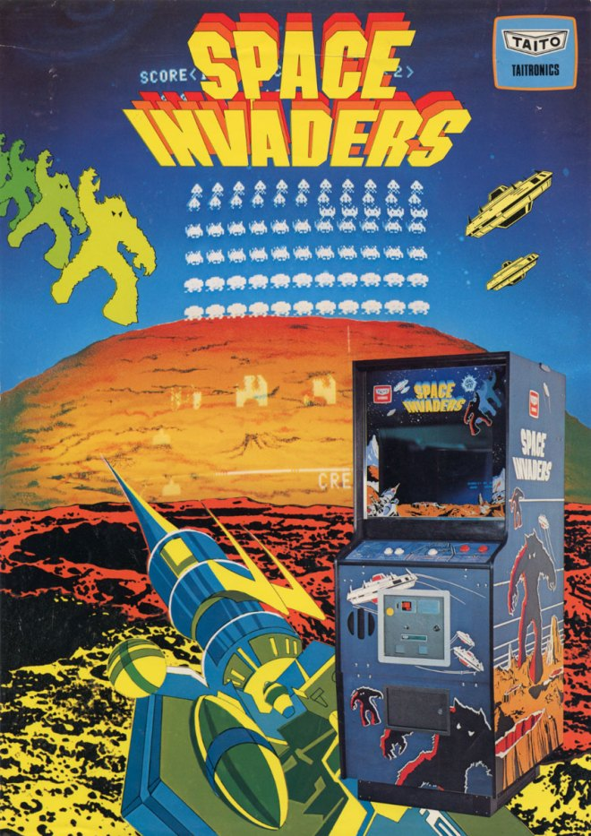 space invaders flyer 1978