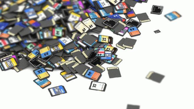 many sd cards