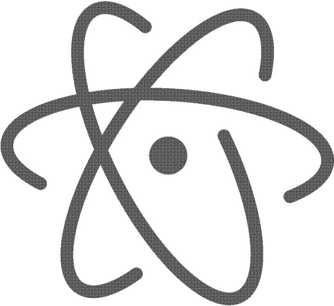 atom editor log 1 bit
