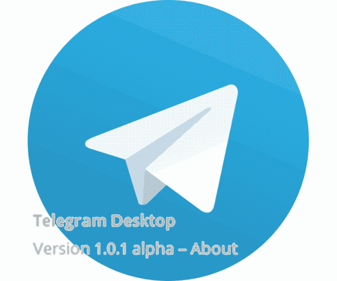 telegram logo desktop alpha version
