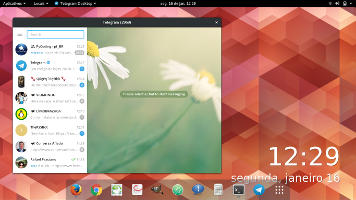 Use o wallch para alternar o papel de parede no desktop Linux.