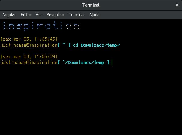 fancy linux terminal